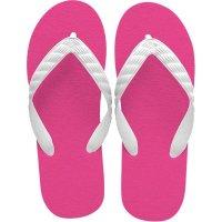 beach sandal tropical pink sole