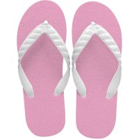 beach sandal pink sole