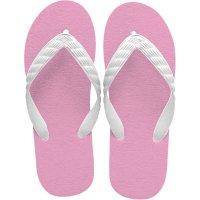 beach sandal pink sole