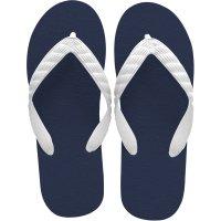 beach sandal navy sole