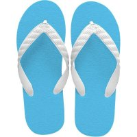 beach sandal aqua blue sole