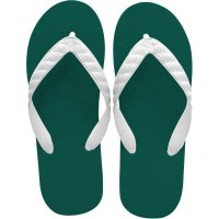 beach sandal ivy green sole