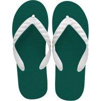 beach sandal ivy green sole