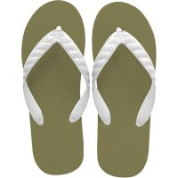 beach sandal city green sole