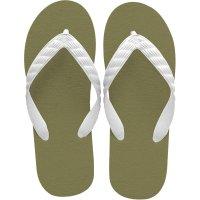 beach sandal city green sole