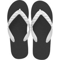 beach sandal black sole