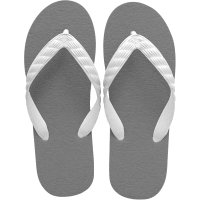 beach sandal gray sole