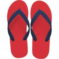 beach sandal navy thong