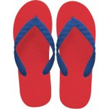 beach sandal royal blue thong