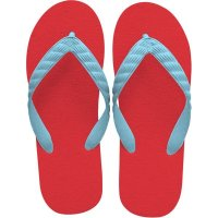 beach sandal aqua blue thong