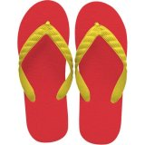 beach sandal yellow thong